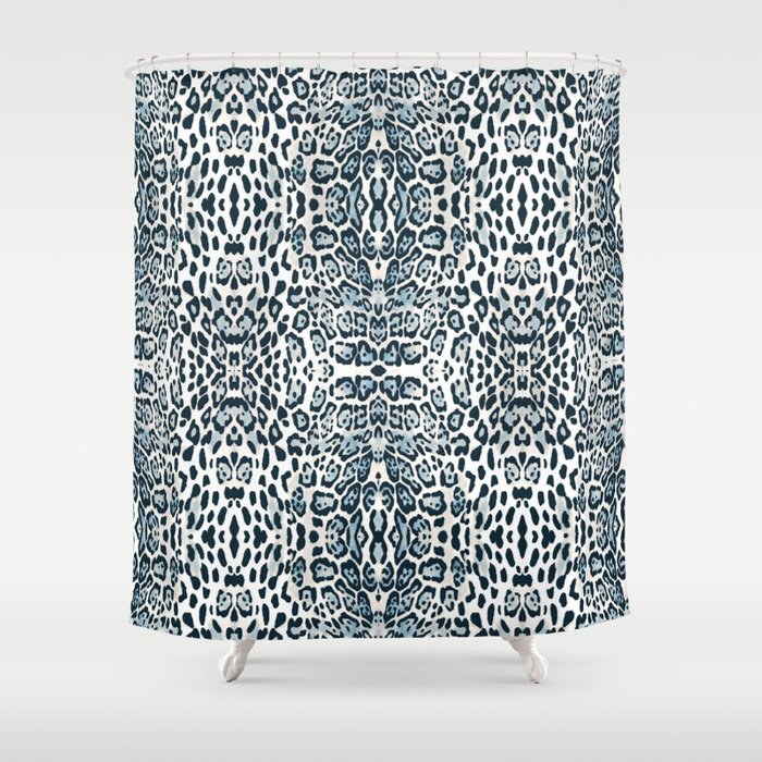 63ff482f586 Snow Leopard Shower Curtain By Nannadesign Society6