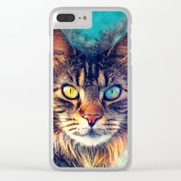 cat Friday #cat #cats #animals Clear iPhone Case