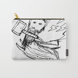 DoodleThor, Goat of Thunder Carry-All Pouch