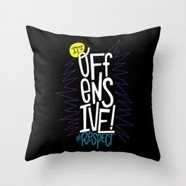 #Respect Throw Pillow