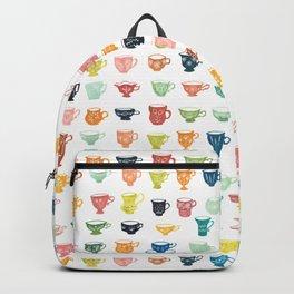 Watercolor Teacups Backpack