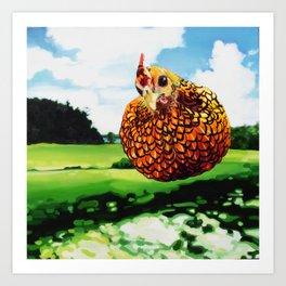 Hector Jiminez Art Print