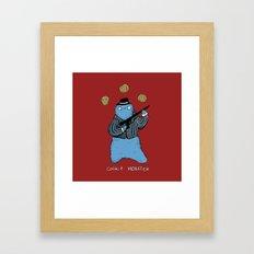 Cookie Mobster Framed Art Print