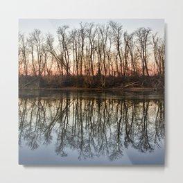 Reflections of Self Metal Print