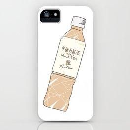 Milk Tea Soft Drink iPhone Case