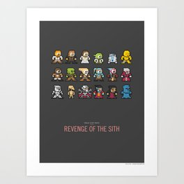 Mega Star Wars: Episode III - Revenge of the Sith Art Print