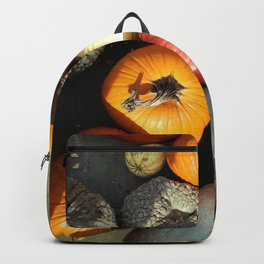 Pumpkins here, Pumpkins there! Backpack