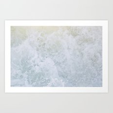 Acqua Nebulae 2 Art Print