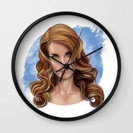 Serene Lana Wall Clock