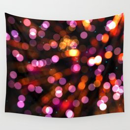 Fireworks Pink (Color) Wall Tapestry