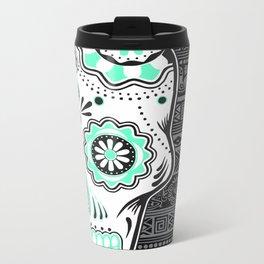 calavera mexicana Metal Travel Mug