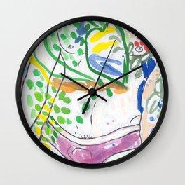 Y-front Garden Wall Clock