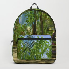 Rittenhouse Square in the Spring Backpack