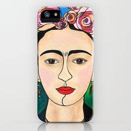 Frida Khalo Portrait iPhone Case
