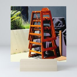 Take Me Higher Chairs Mini Art Print