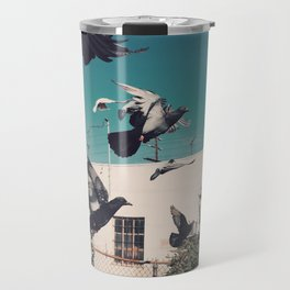 Pigeon brigade Travel Mug