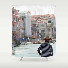 Venice_002 Shower Curtain