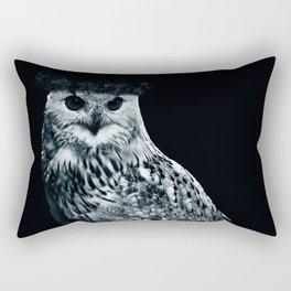 Burning Owl Rectangular Pillow
