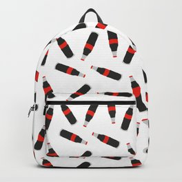 COLA FAST FOOD SODA DRINK PATTERN Backpack