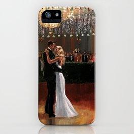 Kim & Billy Wedding: Atlanta Athletic Club iPhone Case