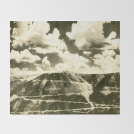 August 1937 Beartooth Highway Throw Blanket