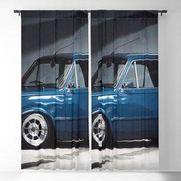 1972 Italian Sport 125 P Special in Blue Blackout Curtain