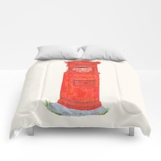Red Mailbox Comforters