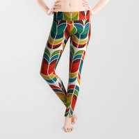 tree Leggings featuring Tulip by Picomodi