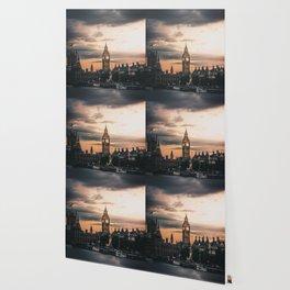 London England Cityscape (Color) Wallpaper