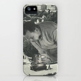 """""""Attention"""" iPhone Case"""