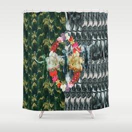 Flora Fauna Shower Curtain