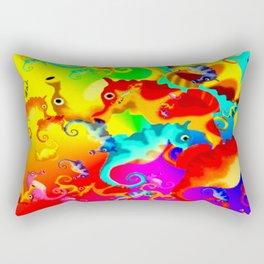Seahorse Rectangular Pillow