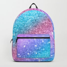 Rainbow Princess Glitter #2 #shiny #decor #art #society6 Backpack