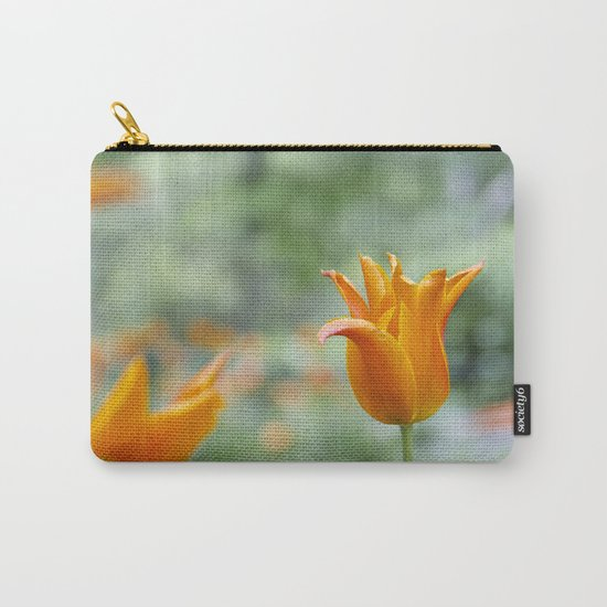 Tulips in orange Carry-All Pouch