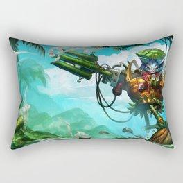 Rumble in the Jungle League of Legends Rectangular Pillow