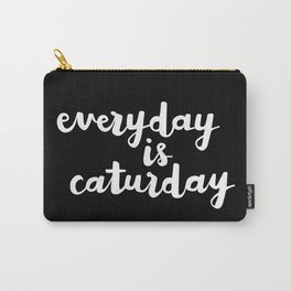 Everyday Is Caturday Carry-All Pouch