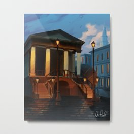 Charleston City Market Metal Print