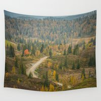norway Wall Tapestries featuring Autumn in Norway by Ana Tonidandel