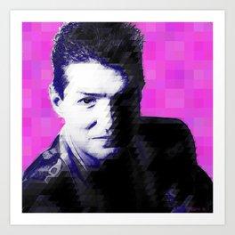 Falco Pixelated Art Print