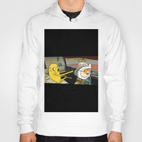 fear and loathing Hoodies featuring fear and loathing time by nakedoats