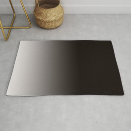 Monochromatic Background, Faded Black to Grey Rug