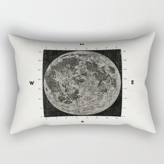 Moon Scale Rectangular Pillow
