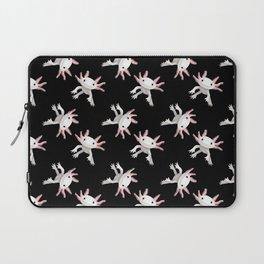 Axolotl Print Laptop Sleeve