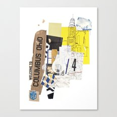 Columbus Canvas Print
