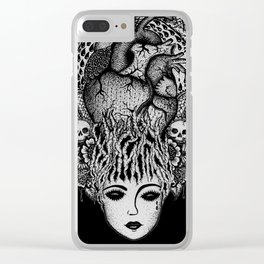 UNREQUITED II Clear iPhone Case