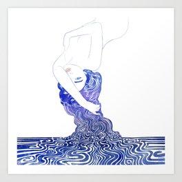 Water Nymph XXXVII Art Print