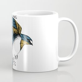 Flying Bird Coffee Mug