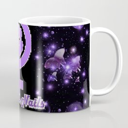 Tough As Nails - Purple Sparks and Butterflies Coffee Mug