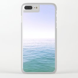 Pastels Clear iPhone Case