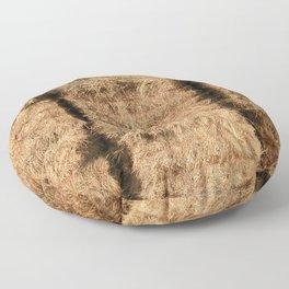 Hay Bales Floor Pillow
